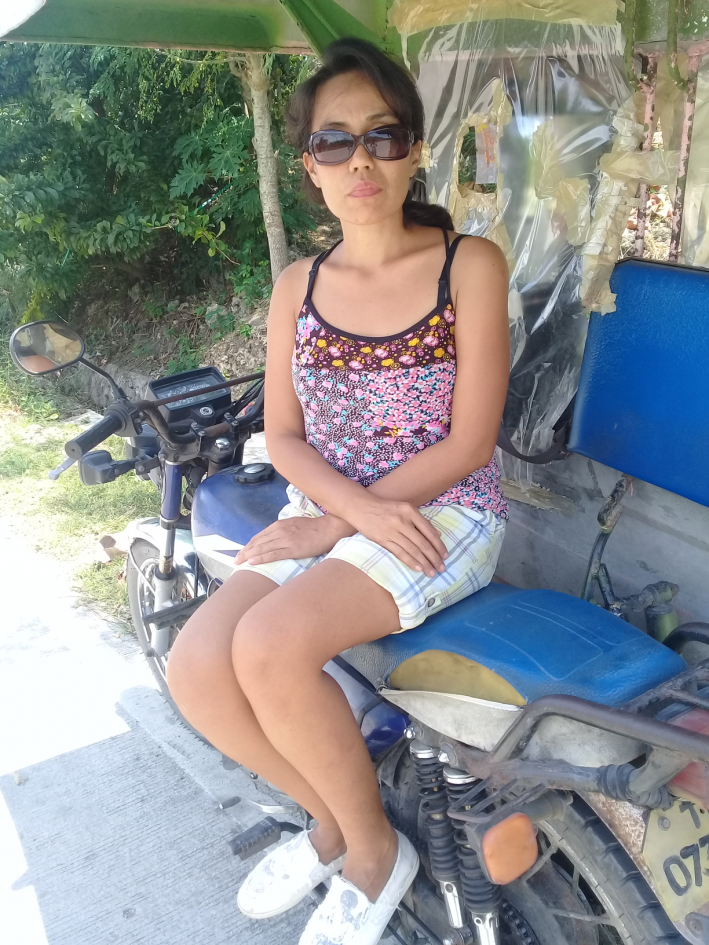 tricycle- common trasportation mode in the philippines