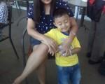 with my nephews